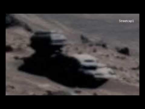Неизвестный робот на Марсе