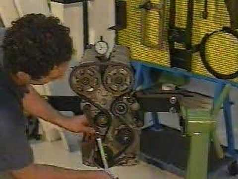 Distribucion motor torque 1.6 16v - YouTube