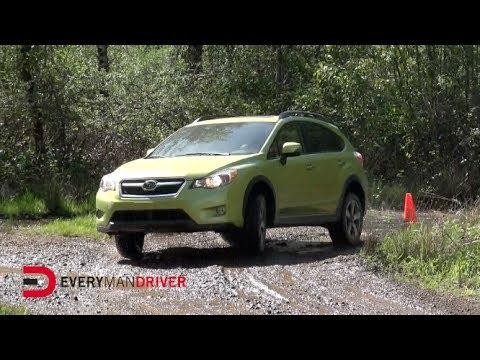 2014 Subaru XV Crosstrek Hybrid AWD Off-Road Test Drive on Everyman Driver