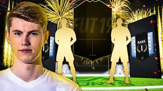 FIFA 19: MEIN BESTES PACK IN FIFA 19! 2x 90+ in 1 PACK! FUT CHAMPIONS ELITE 1 REWARDS! 😱🔥