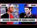 ROGER FEDERER, the evolution in video games [2005 - 2018] MP3