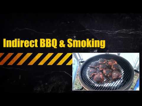 Kamado Grill Cooking Configurations (Big Green Egg. Bayou Classic. Kamado Joe. Grill Dome) 1080p HD