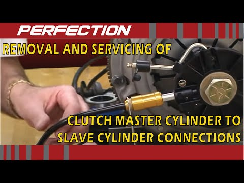 Removal and Servicing of Clutch Master Cylinder to Slave