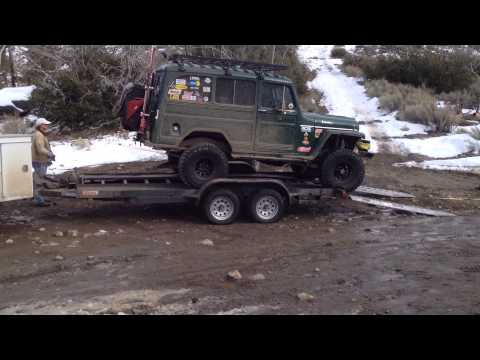 Rescuing The 1948 Willy's Wagon, Trail 3N11, Big Bear, California