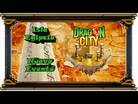 Facebook - Dragon City - Evento Isla Egipcia - Consigue los dragones Faraon y Momia !!