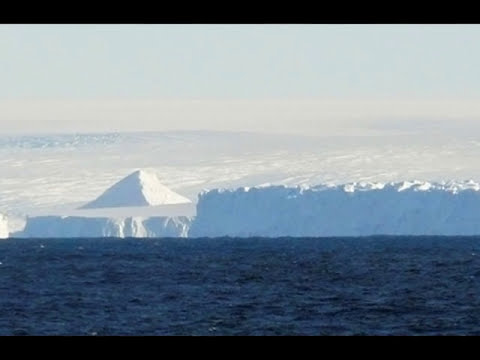 El derretimiento de los glaciares en la Antártida estan revelando pirámides