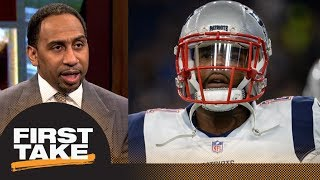Stephen A. calls benching Malcolm Butler right before game classless and cruel | First Take | ESPN