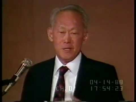 LKY: Third World Perspective Press on 14 April 1988