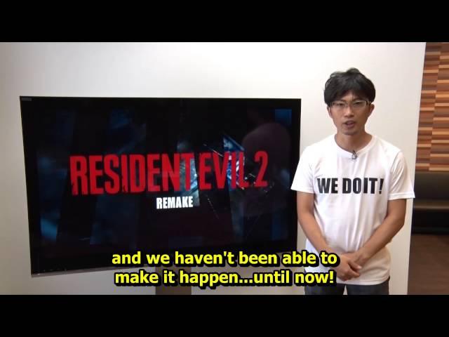 Анонсировано HD переиздание игры Resident Evil 2
