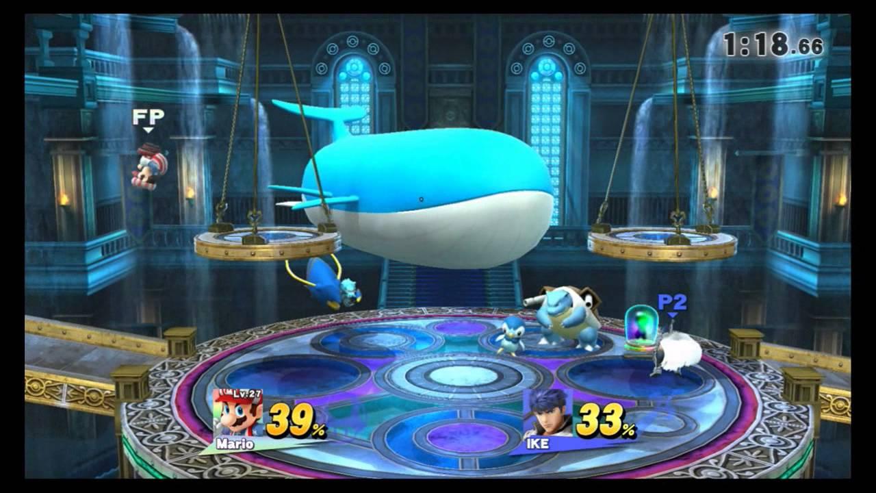 Super Smash Bros. Wii U - Route 10 - Kalos Pokemon League ...