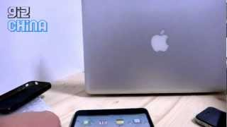 Exclusive iPad mini hands on video
