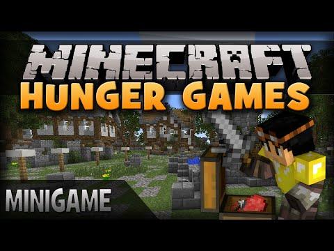 Minecraft Minigames: Hunger Games! (Mineplex Server)