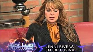 Jose Luis Sin Censura - Jenni Rivera En Exclusiva!