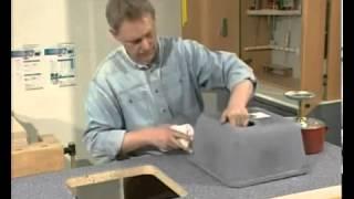 Как сделать столешницу из искусственный камня своими руками 68