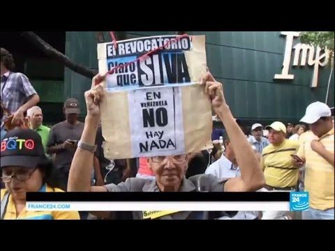 Venezuelan unrest: Protests against President Maduro held across country