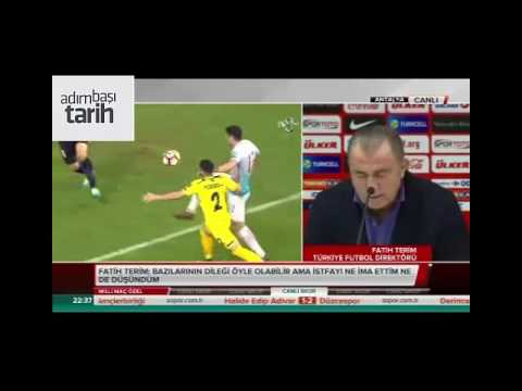 Fatih Terim İstifa Açıklaması Türkiye - Kosova Maçı Sonrası 12.11.2016