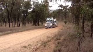 Mactrans Heavy Haulage V8 Mack and C16 Titans