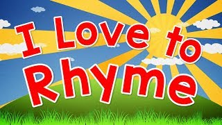 I Love to Rhyme | English Song for Kids | Rhyming for Children | Jack Hartmann