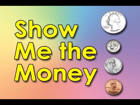 Coin Song | Show Me the Money | Counting Money | Kids Videos | YouTube for Kids | Jack Hartmann