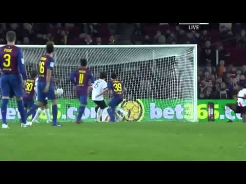 FC Barcelona VS Hospitalet (9-0) All Goals & Full Match Highlights (22.12.2011)