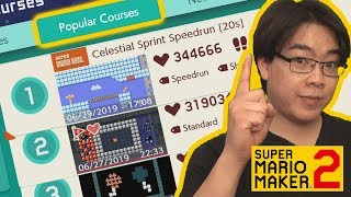 All-Time Most Popular Levels! (August 2019) | Super Mario Maker 2