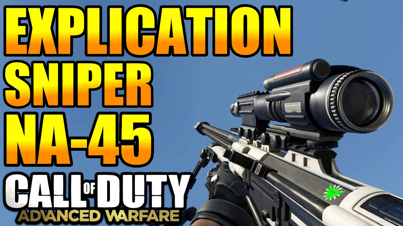 Warfare Snipers Advanced Warfare Sniper