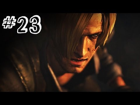 Resident Evil 6 Gameplay Walkthrough Part 23 - FULL CIRCLE - Leon / Helena Campaign Chapter 5 (RE6)
