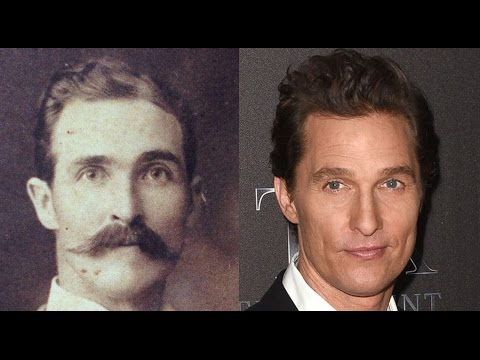 Matthew McConaughey Looks EXACTLY Like Great-Great-Grandfather