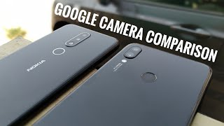 Nokia 6.1 Plus Vs Redmi note 7 Google Camera Comparison.  Must watch for night sight photos!