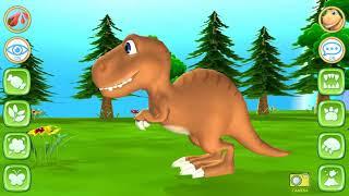 Ngắm và trêu khủng long, bicro kids game