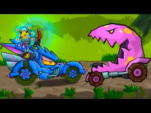 Car Eats Car 3 Машина ест машину / Хищные машины #42 детский летсплей про машинки как HILL CLIMB #МК