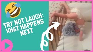 Funny Baby Videos   Guess what happens next? 😀👣🤣 (NEW VIDEO)