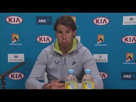 Rafa Nadal press conference - Australian Open 2015