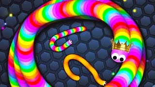 ULTIMATE SLITHER.IO 50K+ SNAKE!! (Slither.io)
