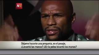 Mayweather OWNS ESPN reporter Bernardo Osuna