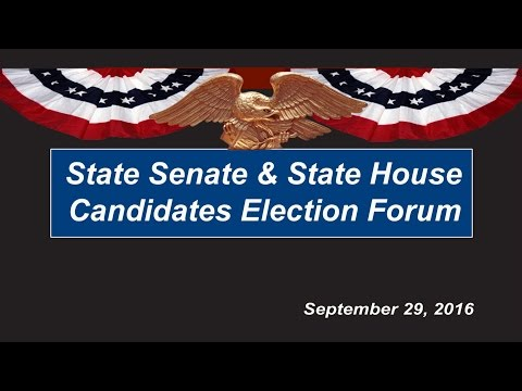 view State Senate & State House Election Forum video