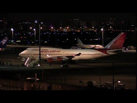 VIP Flight  Jumbo Jet (VT-EVA / Air india / 2014-08-31 19:12 / HND)
