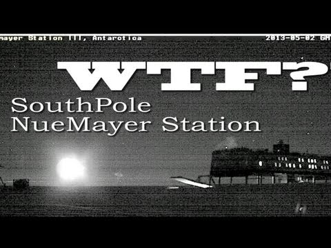 WTF South Pole. Nibiru? UFO? Moon? Lens flare? Planetx? Planet?  NueMayer Station