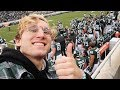 SITTING WITH THE MSU FOOTBALL PLAYERS FOR THE GAME! MSU VS PURDUE NCAA VLOG