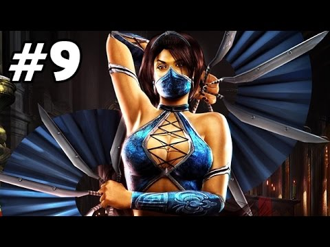 Let's Play Mortal Kombat 9 Story Mode Deutsch #09 - Kitana