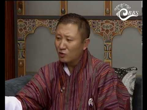 Dawai Kudroen with Dr. Tandi Dorji, DNT Spokesperson