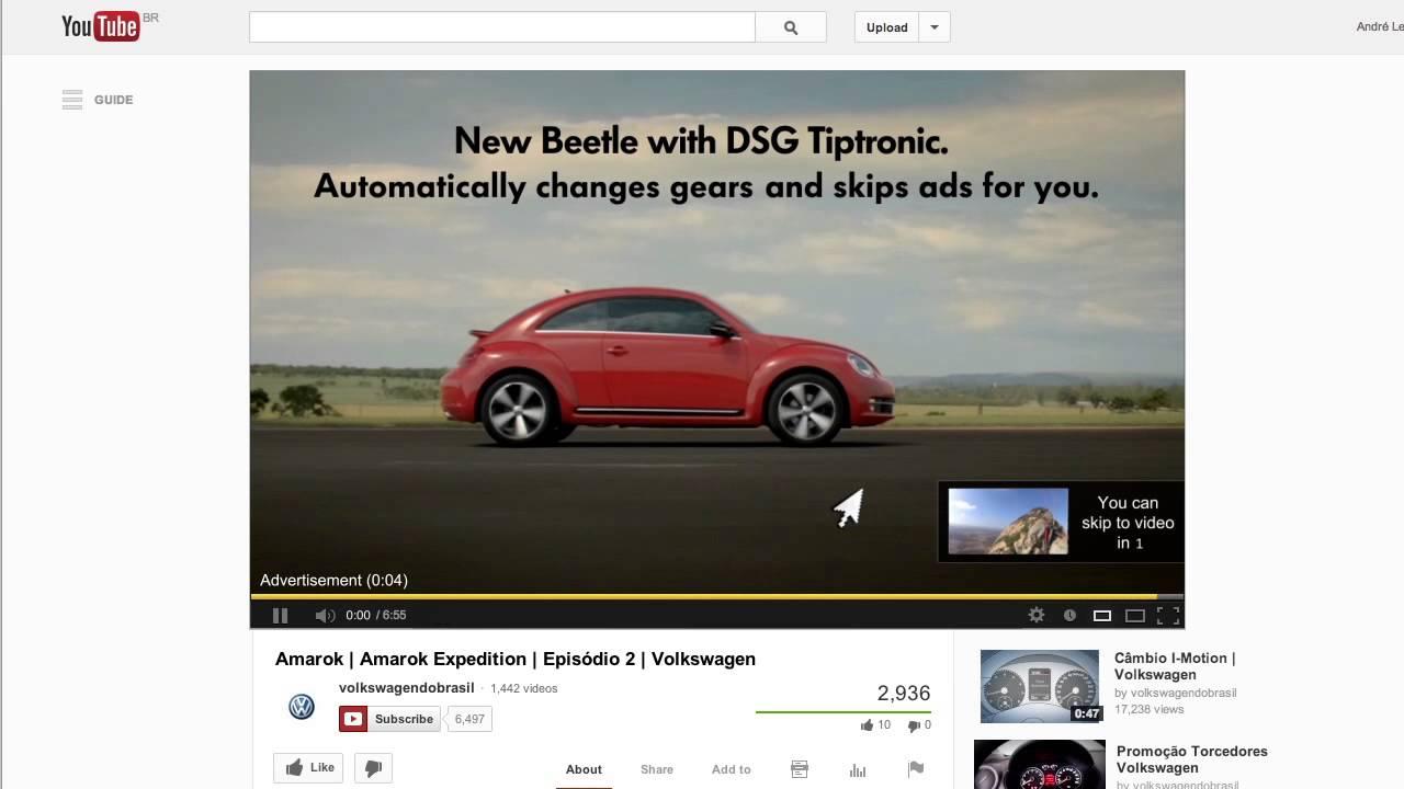 Automatic Skip Ad Volkswagen Almapbbdo Youtube