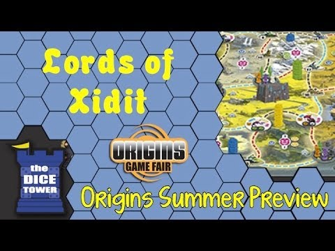 Origins Summer Preview: Lords of Xidit