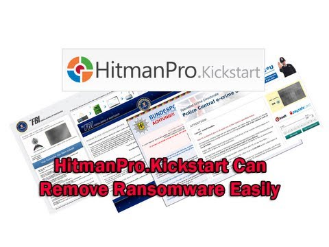 HitmanPro.Kickstart Can Remove Ransomware Easily by Britec
