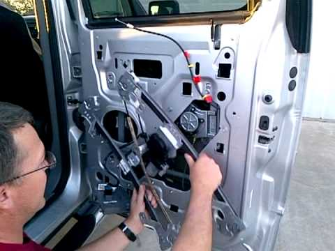 2004 F-150 Rear Passenger Window Regulator Replacement