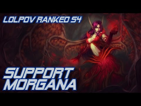 LoLPoV - Support Morgana #1 Ranked Road to Challenger S4 (League of Legends Live Commentary)