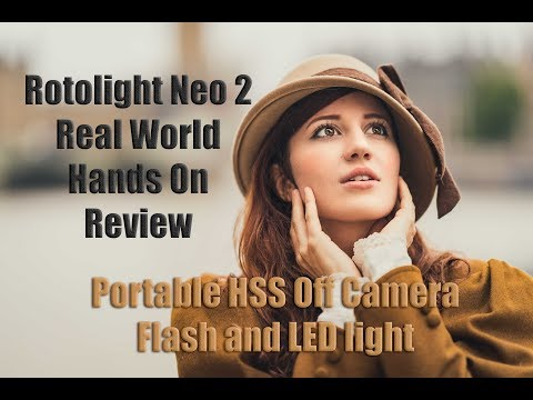 REAL Truth, No BS, Hands On Review of the Rotolight Neo 2- High Speed Sync Off Camera LED and Flash
