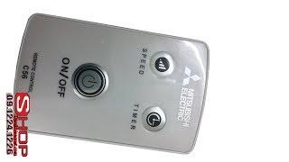 Điều khiển quạt trần mitsubishi electric C56