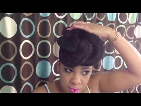 2 Effortless Natural Hairstyles Using Braiding Hair