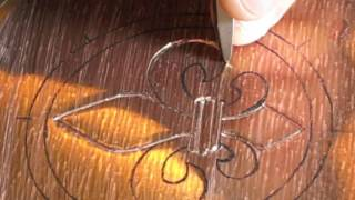 Tutorial Tuesday - Chasing and Repousse series #4: Chasing an outline